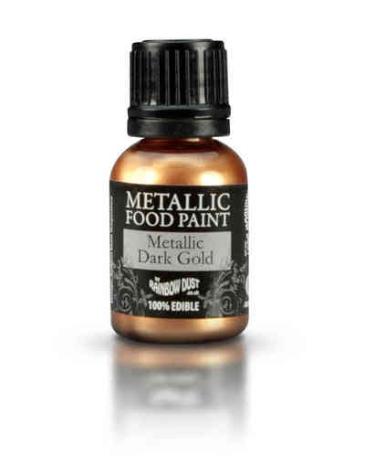 Metallic Food Paint Metallic Dark Gold
