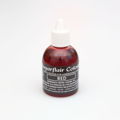Airbrushfarbe Rot / Red 60ml