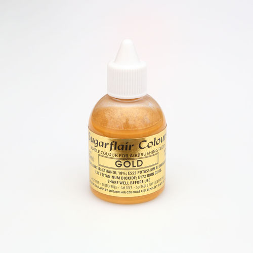 Airbrushfarbe Gold 60ml
