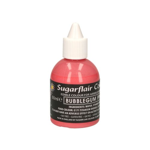 Airbrushfarbe Bubblegum Pink Rosa 60ml