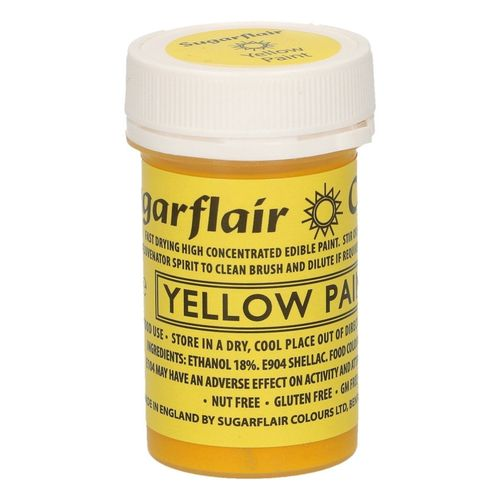Sugarflair Malfarbe / Edible Paints Yellow / Gelb
