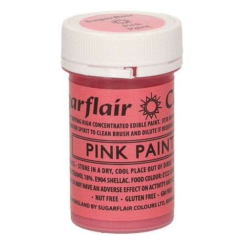 Sugarflair Malfarbe / Edible Paints Pink / Rosa