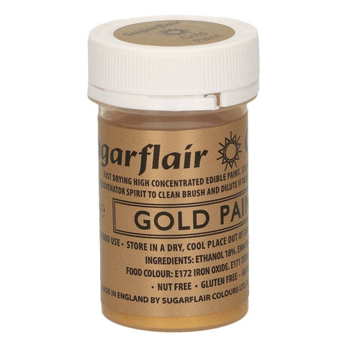 Sugarflair Malfarbe / Edible Paints Gold