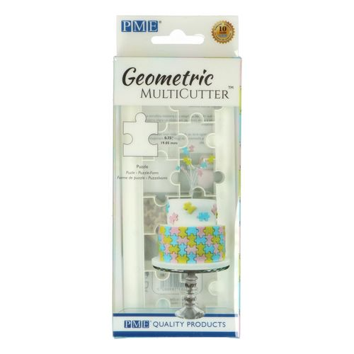 Geometric Multicutter Puzzle Small