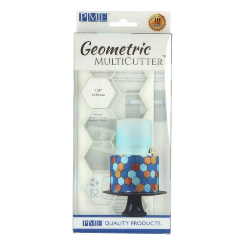 Geometric Multicutter Hexagon / Sechseck Large