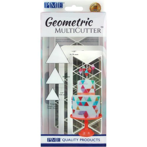 Geometric Multicutter Triangle / Dreieck 3er Set