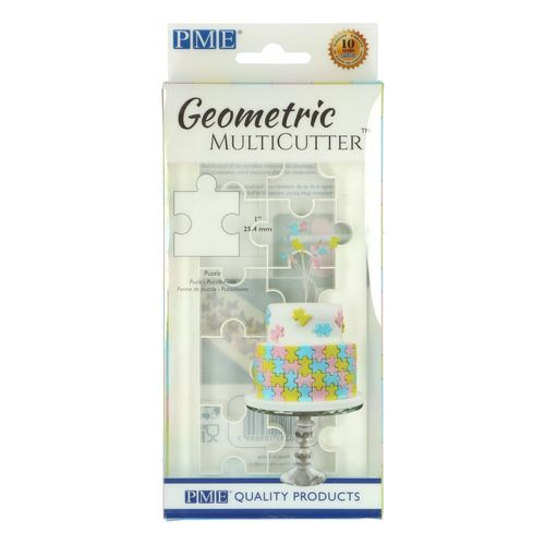 Geometric Multicutter Puzzle Medium