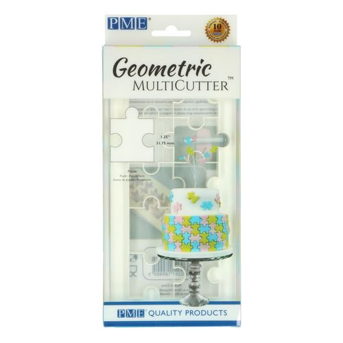 Geometric Multicutter Puzzle Large