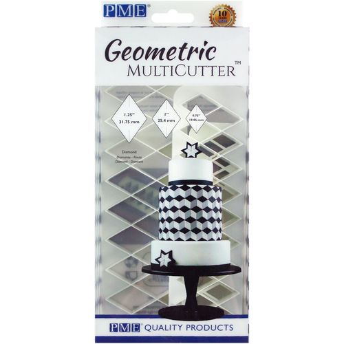 Geometric Multicutter Diamond / Diamant 3er Set