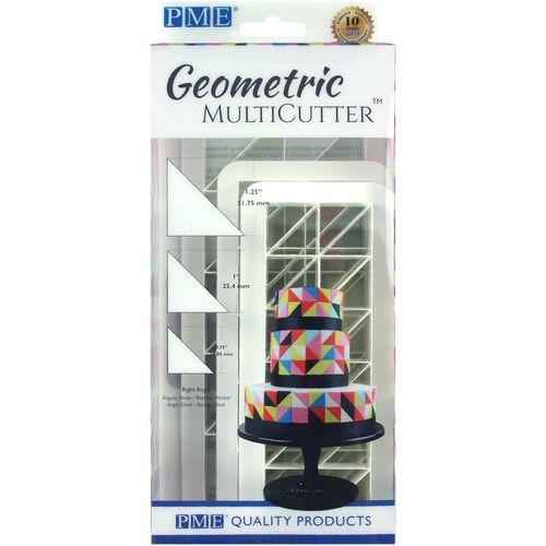 Geometric Multicutter Right Angle / Rechter Winkel 3er Set