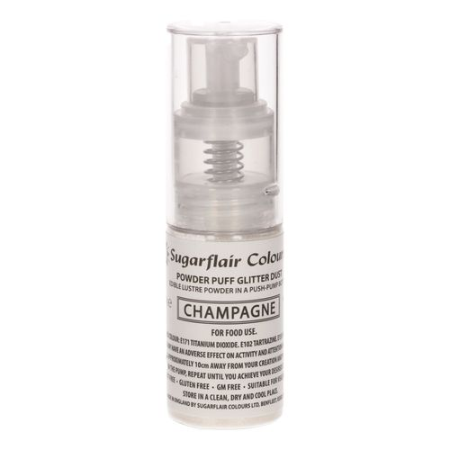 Sugarflair Pump Spray Glitter Dust Oyster / Auster