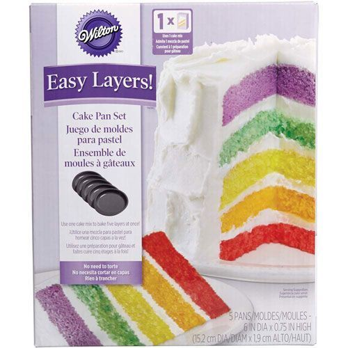 Wilton Easy Layer Backform Set