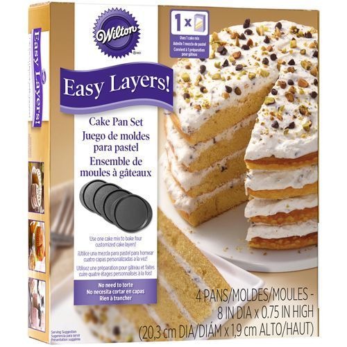Wilton Easy Layer Backform Set 20cm