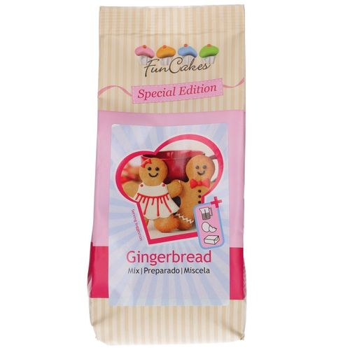 Backmischung Gingerbread 500 g FunCakes