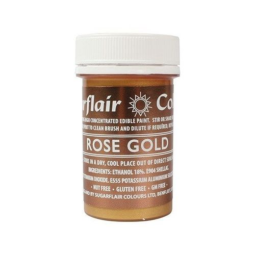 Sugarflair Malfarbe / Edible Paints Rose Gold / Rosegold