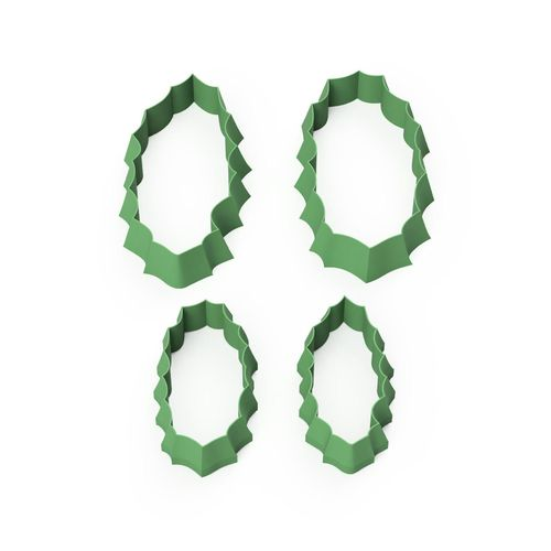Stechpalme / Holly Leaf Seamless Flower Cutter