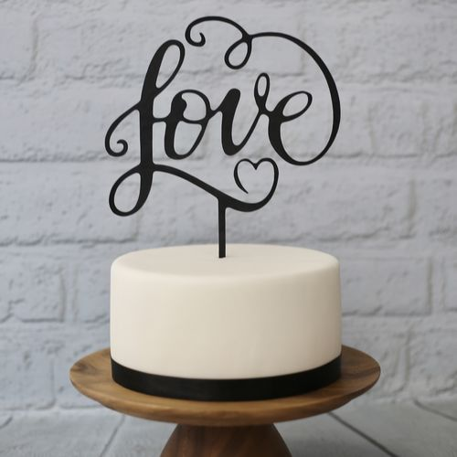 "CakeTopper XL ""Love"""