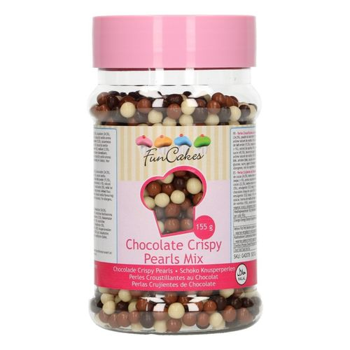 FunCakes Chocolate Crispy Pearls 155g