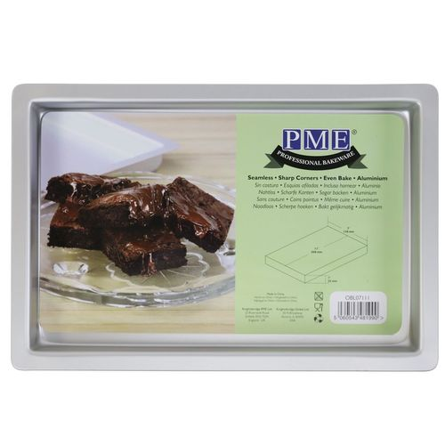 PME Backform Brownie klein 28,0 x 17,8 x 2,5cm