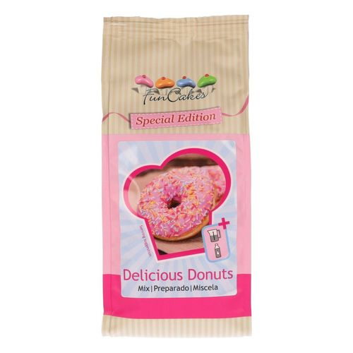 Backmischung Delicious Donuts 500 g FunCakes