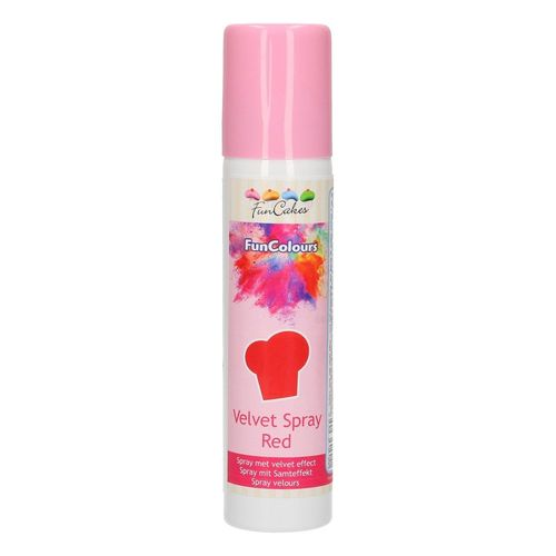 Velvet Spray Red 100ml von FunCakes