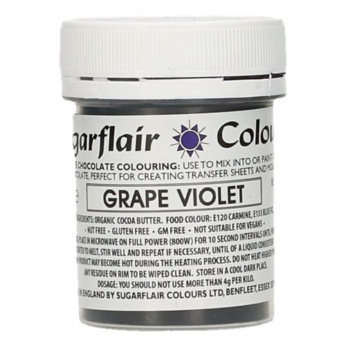 Sugarflair Schokoladenfarbe Grape Violet 35g