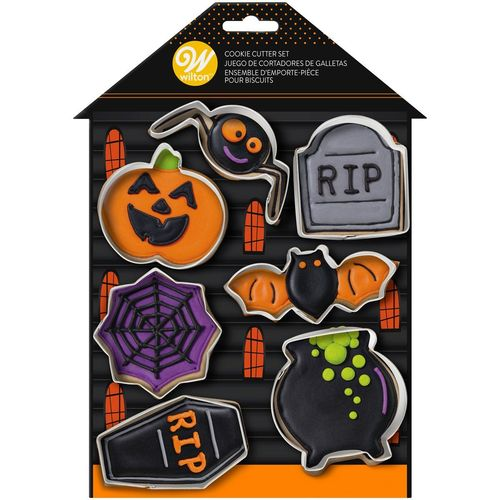 Halloween Ausstecher Set Haunted House 7tlg. Wilton